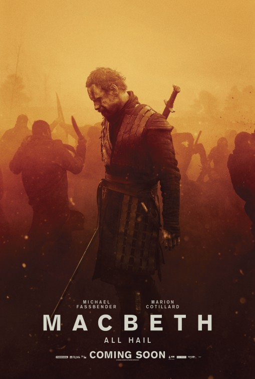Macbeth 2015 movie poster