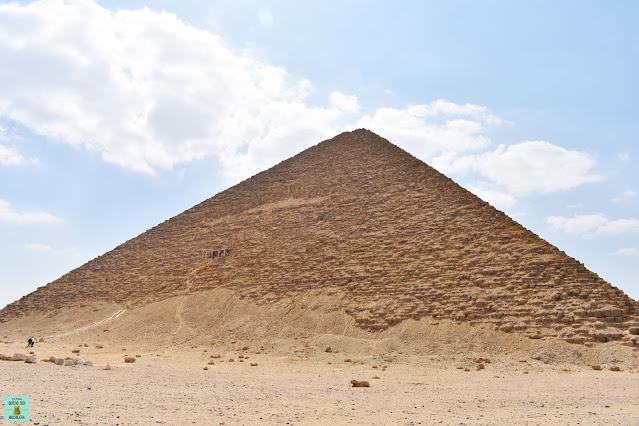 Pirámide Roja en Dashur