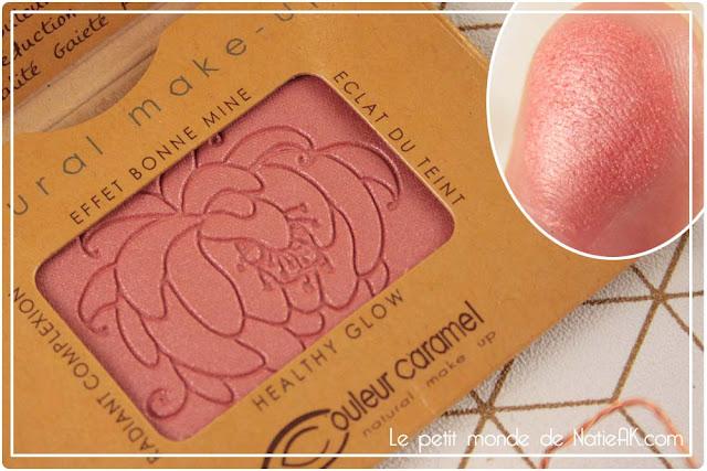 fard à joues effet bonne mine naturel Couleur caramel