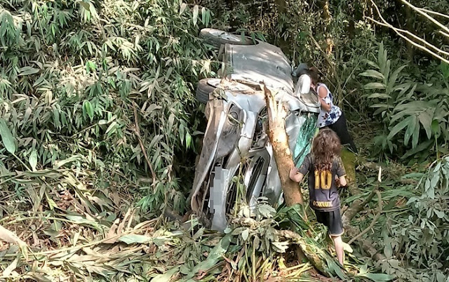 Vereador de Guarapuava se envolve em acidente na estrada entre Roncador e Mato Rico