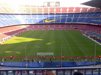 Camp Nou, the FC Barcelona Stadium