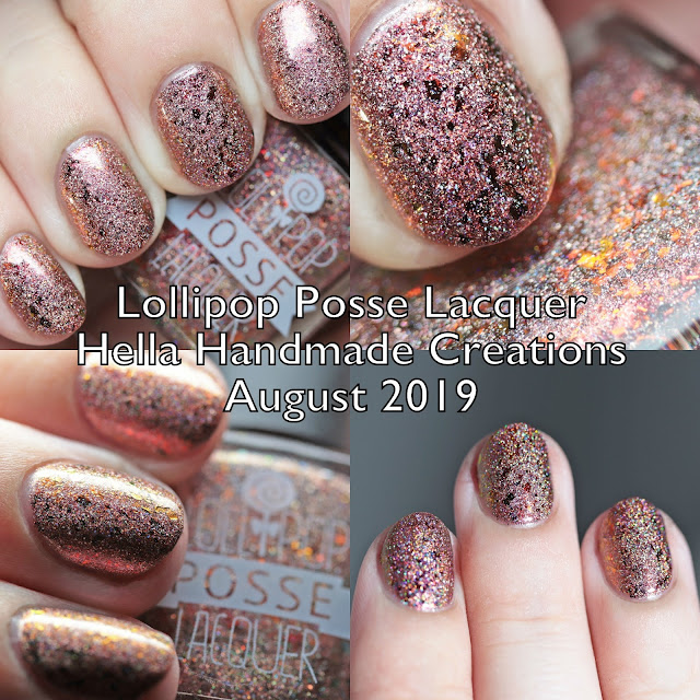 Lollipop Posse Lacquer Hella Handmade Creations August 2019