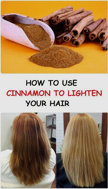 Use Cinnamon To Lighten Hair And Add Highlights Naturally