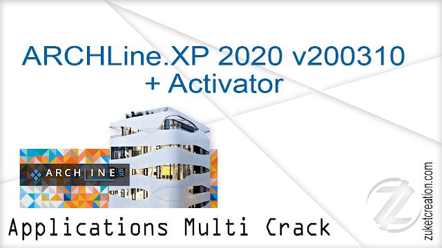 ARCHLine.XP 2020 v200310 + Activator