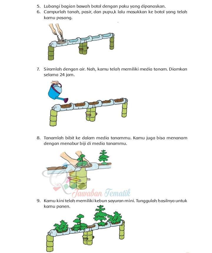 Jawaban Buku Paket Siswa Tematik Kelas 4 Tema 9 Subtema 4 ...