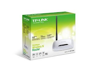 ضبط اعدادات اكسز بوينت TL-WR741ND V5 لأستقبال وارسال الانترنت