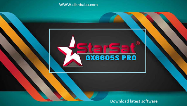 GX6605S Starsat Pro,HW203.00.001
