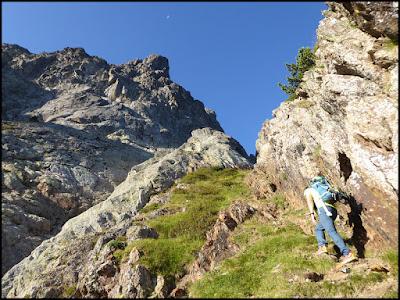 En la brecha de los Austriacos, Midi d'Ossau