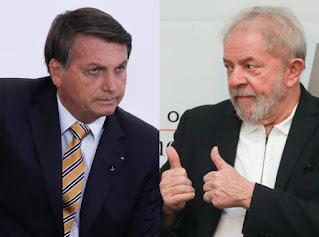 Data folha mostra en nova pesquisa Lula disparado para a eleição de 2022