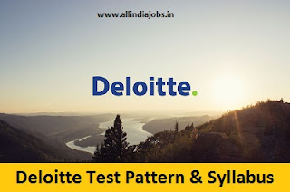 Deloitte Test Pattern