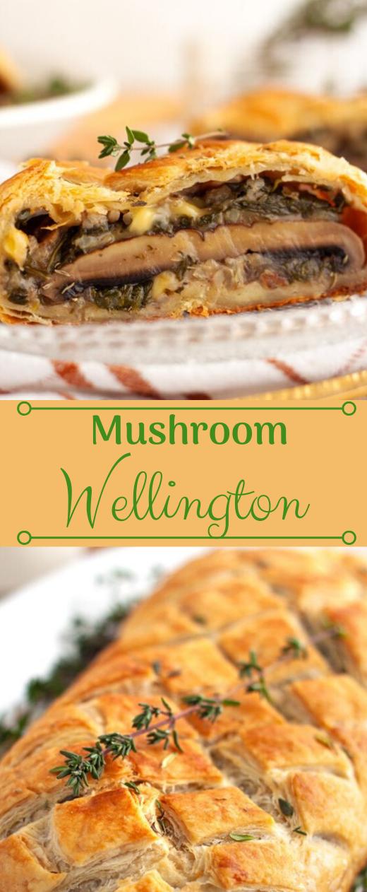 Vegan Mushroom Wellington Recipe #vegan #mushroom #vegetable #food #recipes