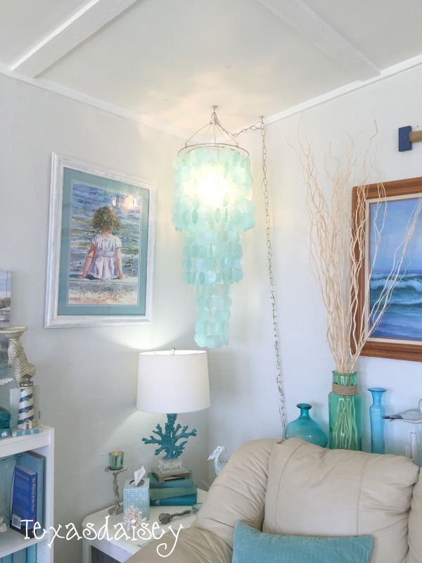 diy a capiz shell chandelier on a budget 7 - Capiz Shell Chandelier