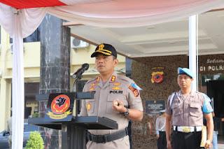 Polres Cirebon Gelar Apel Operasi Zebra 2019