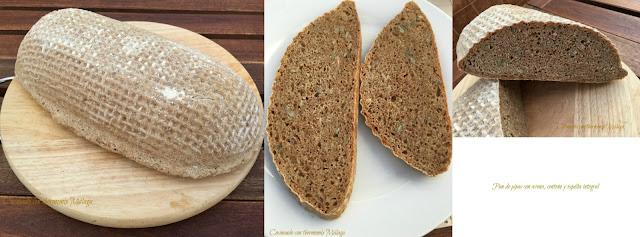 Pan de pipas con avena, centeno y espelta integral