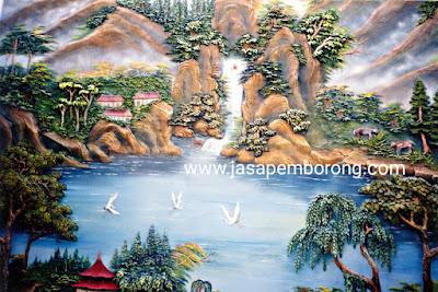Jasa Tukang Relief Kolam Tebing Jogja | Desain Pembuatan Dekorasi Relief Air Terjun di Jogjakarta