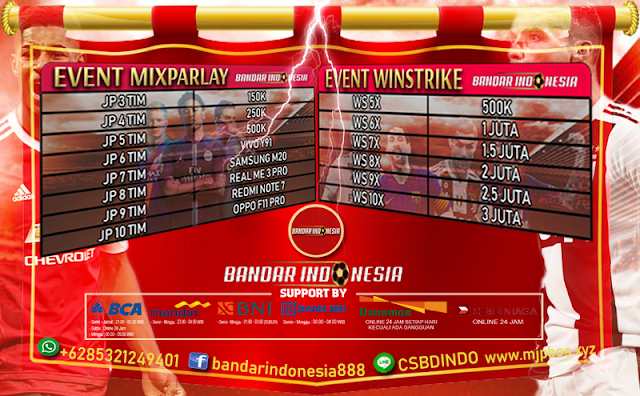 Event Mixparlay Bandarindonesia