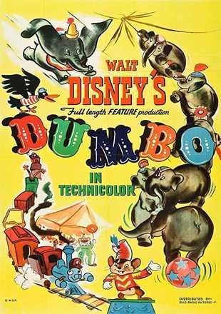 Dumbo 1941 BRRip 720p Dual Audio In Hindi English