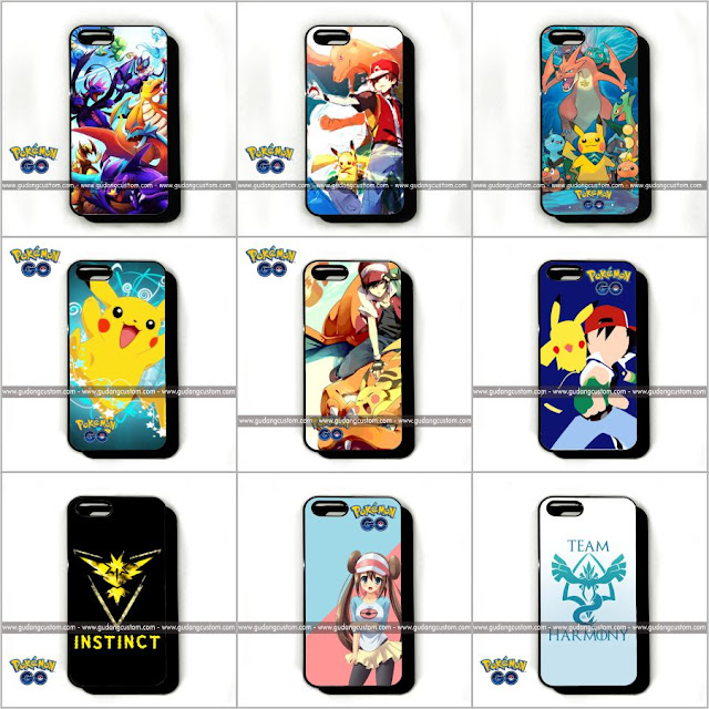 Katalog customcase pokemon go