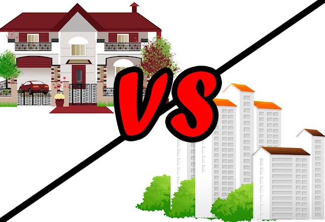 house vs apartment
