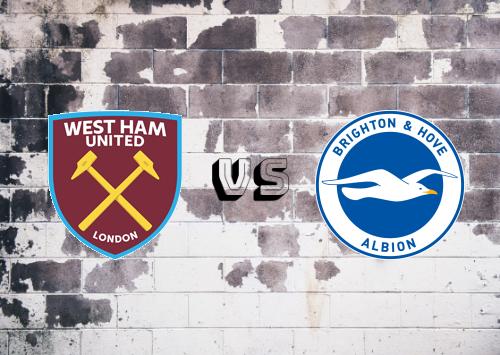West Ham United vs Brighton & Hove Albion  Resumen