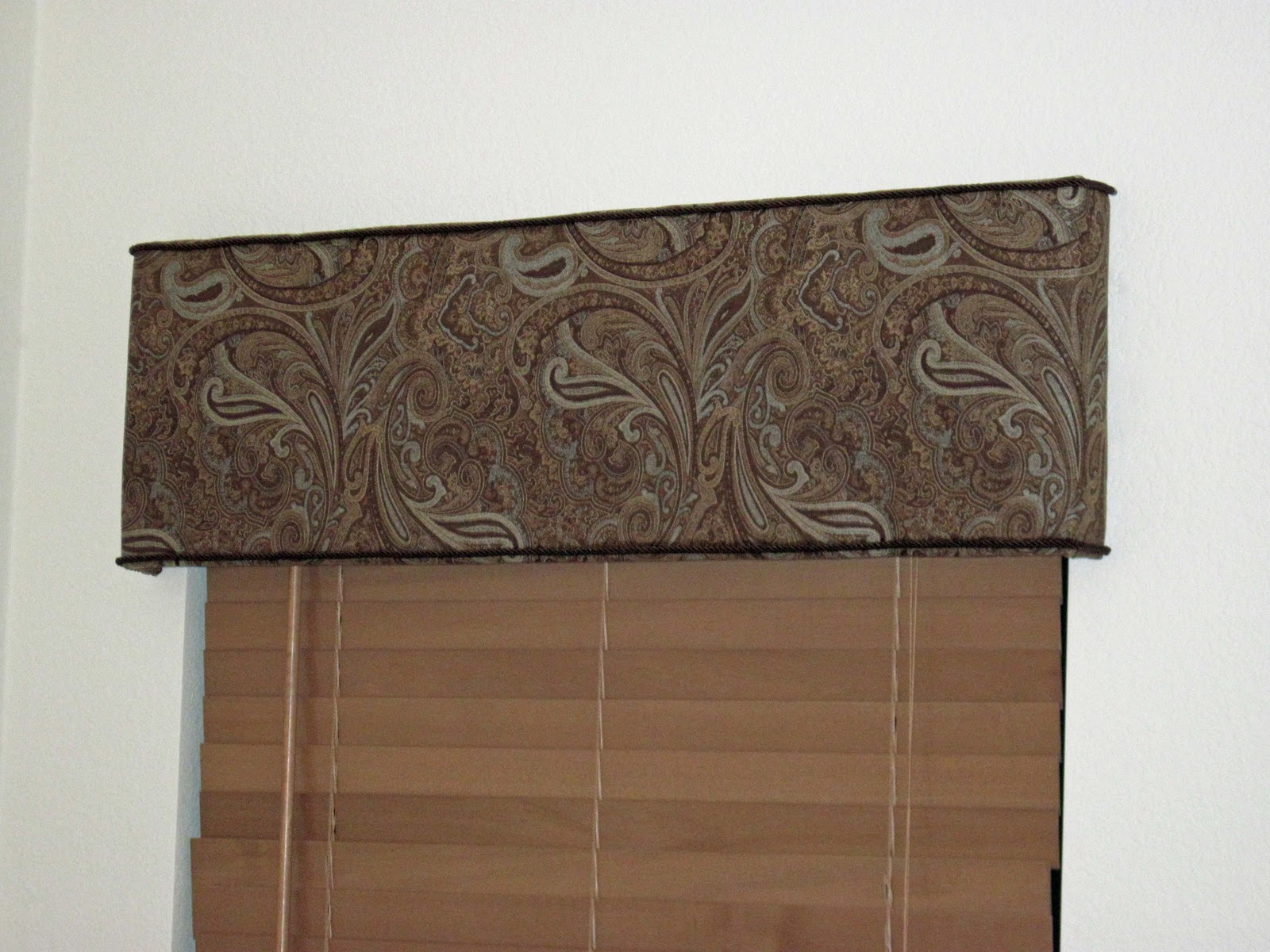 As The Curtain Hangs Diy Cornice Boards