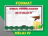 Format Resume Pembelajaran Kelas 4 KK 2013