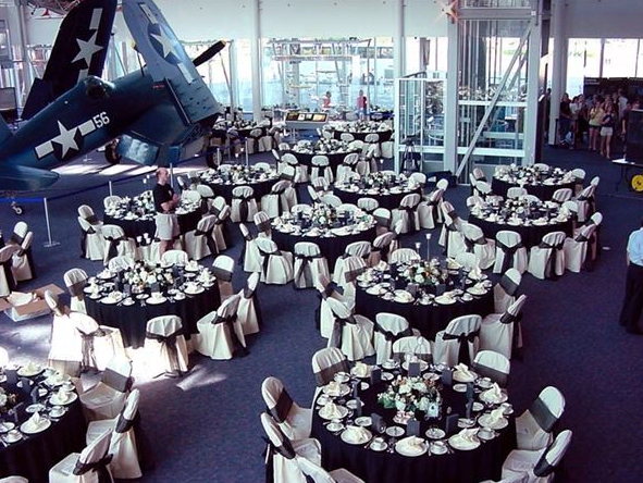 Virginia Air and Space Center Wedding Venues