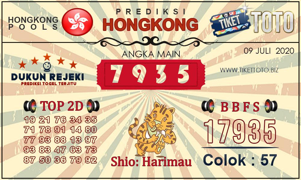 Prediksi Togel HONGKONG TIKETTOTO 09 JULI 2020