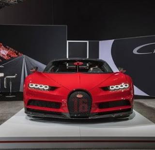 design front new bugatti chiron sport