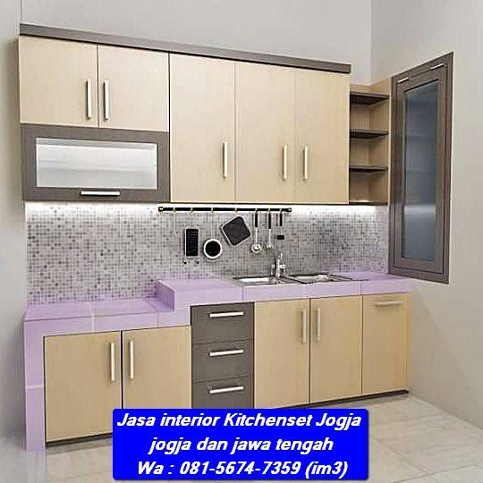 081 5674 7359 Im3 Jasa Kitchenset Jogja Bikin Kitchen Set Murah