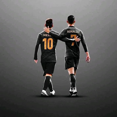 "#Messi on #Cristiano #Ronaldo -""I don't think, I will consider myself better than Cristiano because I have won 6 ballon d'or, one ahead of him. Cristiano can then also say he has won 2 #FiFa the best award than me. When it comes to myself and #Cristiano, you can't compare us, you just have to enjoy us""."