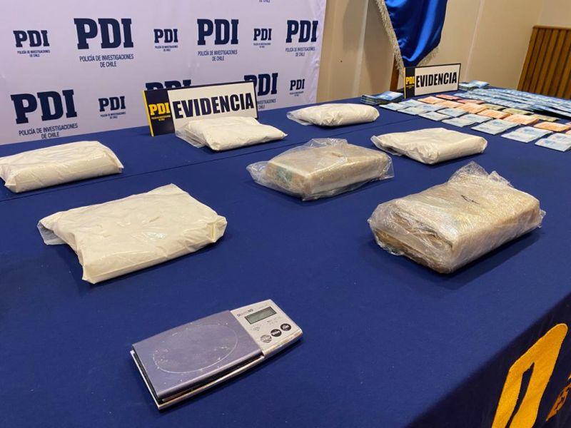 PDI incauta más de 7 kilos de droga en la provincia de Llanquihue