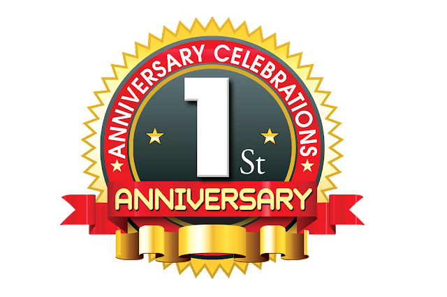 1st-anniversary-vector-logo-template-with-red-ribbon-psdfiles.in