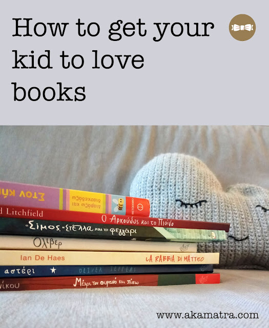 How to get your kid to love books