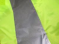 Reflektor: Regenschutz für Rucksäcke Rucksackschutz Ranzen Regenschutz Rucksackcover Regenüberzug Neon Sicherheitsüberzug Reflektorüberzug