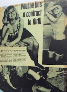 Pauline Boty, Tit Bits magazine