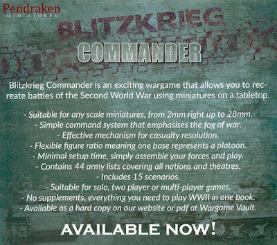 Blitzkrieg Commander Iv Was Released Earlier This Year from Pendraken Miniatures