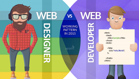 Web Designer V/S Web Developer:Differences in the Work Pattern 2015