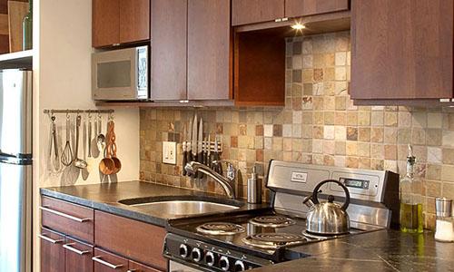 Kitchen Backsplash Maple Cabinets Ideas | Home Interior ... on Backsplash For Maple Cabinets  id=59842