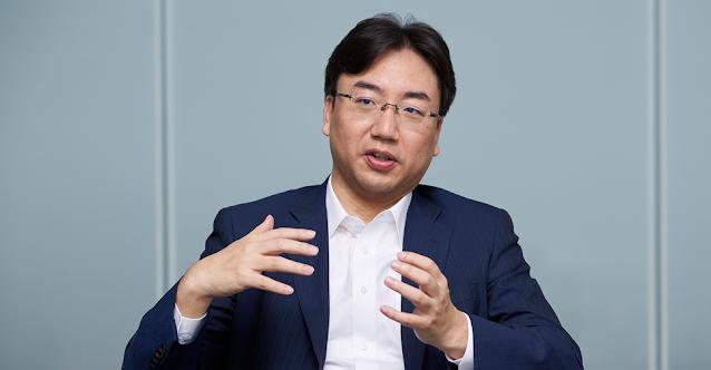 Imagem de Shuntaro Furukawa, presidente da Nintendo