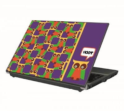 Kreasi casing laptop biar semangat