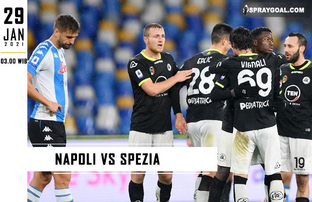 Prediksi Skor Napoli Vs Spezia Jumat 29 Januari 2021