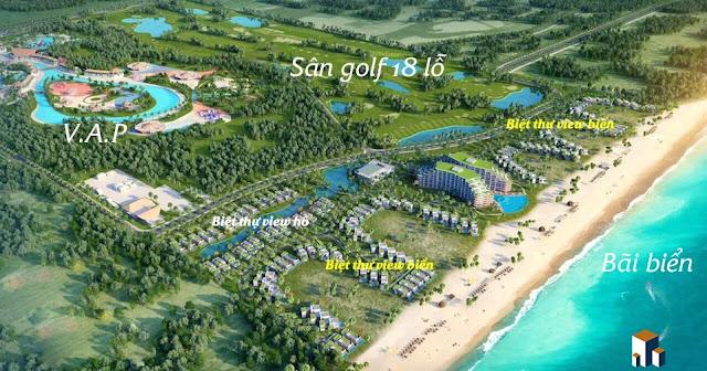 Phối cảnh dự án VINPEARL Nam Hội An