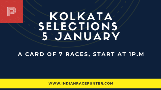 Kolkata Race Selections 5 January
