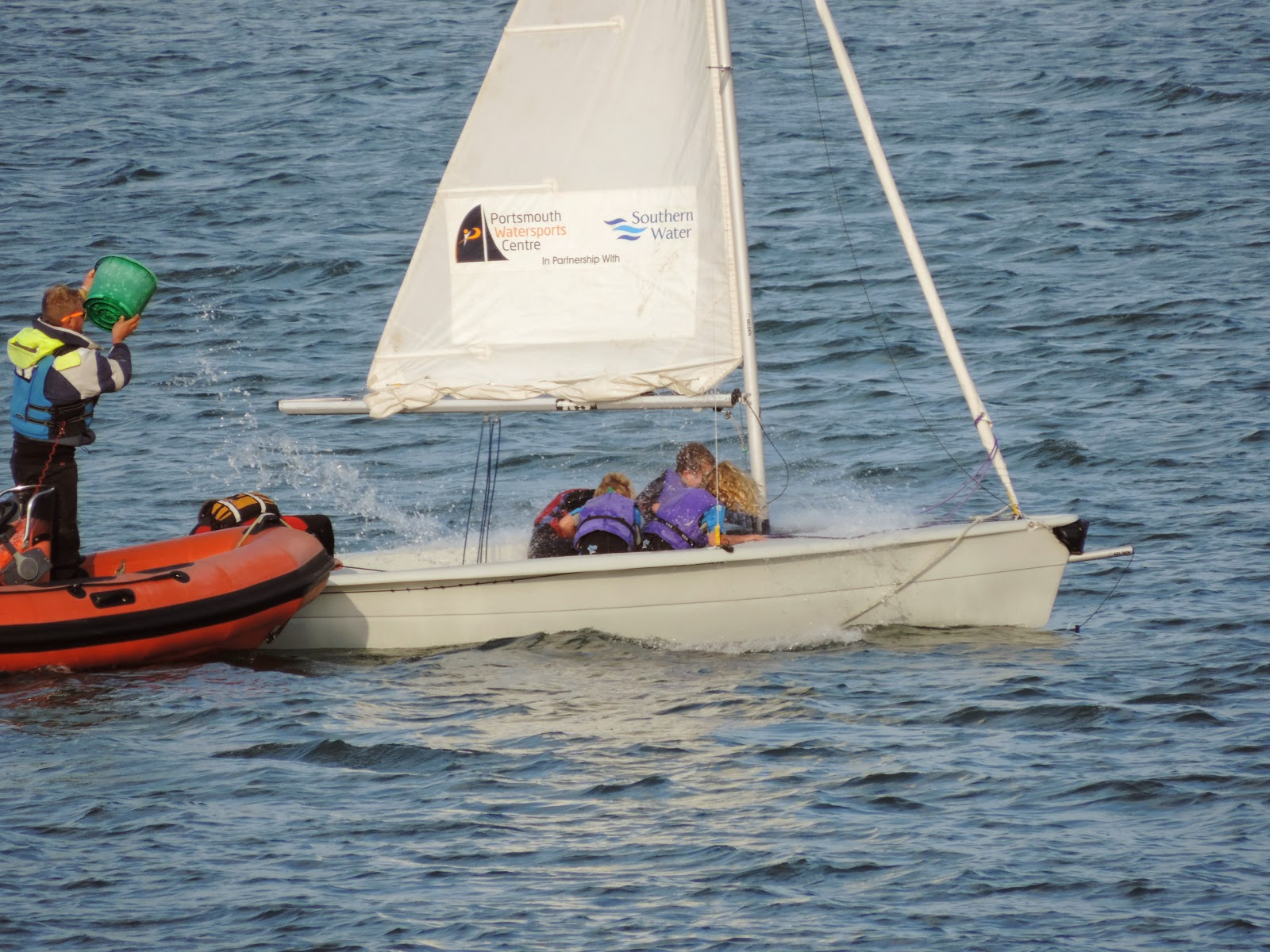 yacht training in langstone harbour