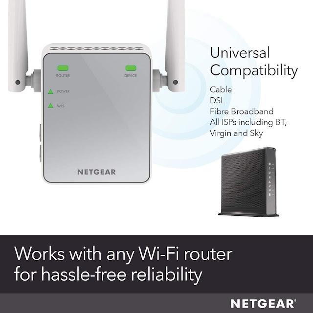 NETGEAR N300 Wireless repeater