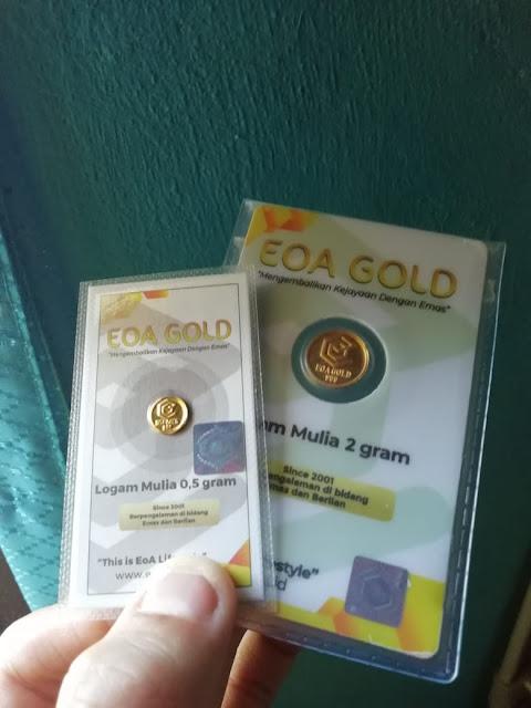 EOA Gold Pilihan Investasi Emas
