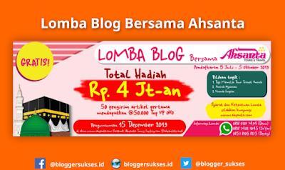 Lomba Blog Ahsanta Tours Travel