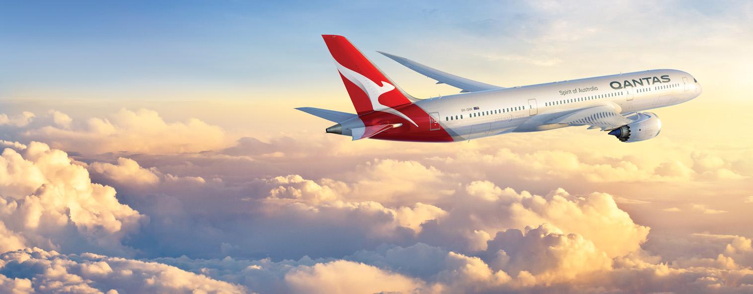 Voo direto da Qantas