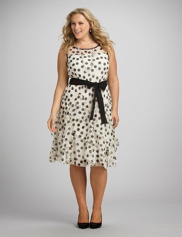 Modelos de vestidos de diario para gorditas